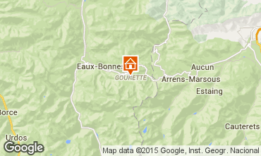Mapa Gourette Est�dio 99535