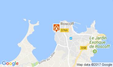 Mapa Roscoff Apartamentos 110712