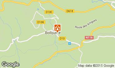 Mapa Bolquère Pyrenées 2000 Apartamentos 67250