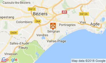 Mapa Sérignan Casa 114493