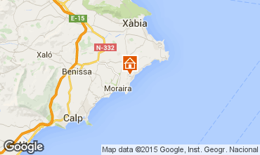 Mapa Moraira Vivenda 49775