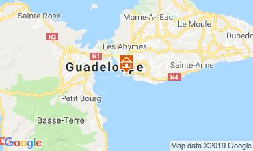 Mapa Gosier (Guadeloupe) Apartamentos 117735