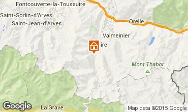 Mapa Valloire Apartamentos 3412