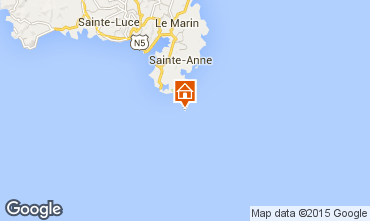 Mapa Sainte Anne (Martinique) Estúdio 78983