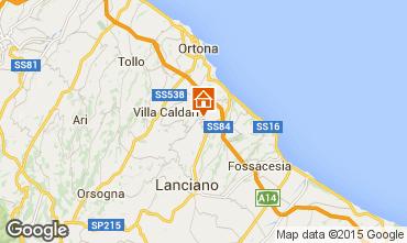 Mapa San Vito Chietino Vivenda 100195