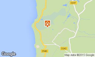 Mapa Wimereux Casa 102074