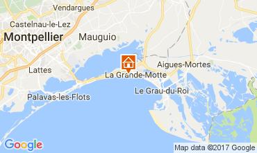 Mapa La Grande Motte Apartamentos 110356