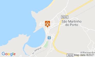 Mapa São Martinho do Porto Apartamentos 47008