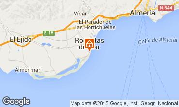 Mapa Roquetas de Mar Apartamentos 49476