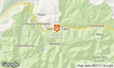 Mapa Les 2 Alpes Apartamentos 87190