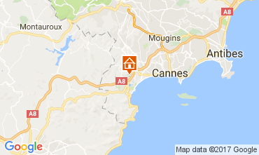 Mapa Cannes Estúdio 67791