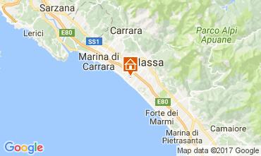 Mapa Marina di Massa Apartamentos 72642