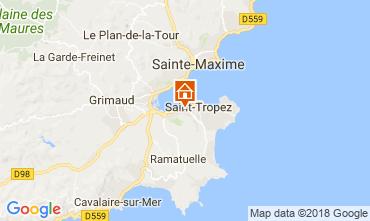 Mapa Saint Tropez Casa 95795