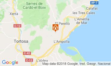 Mapa L'ampolla Vivenda 117460