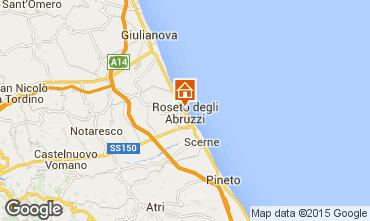 Mapa Roseto degli Abruzzi Apartamentos 53920