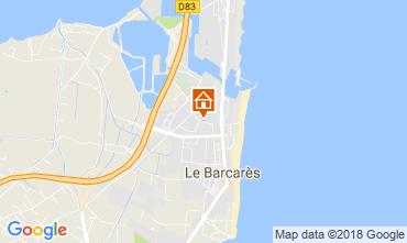 Mapa Le Barcares Casa 115740