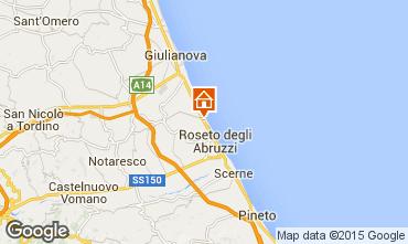 Mapa Roseto degli Abruzzi Apartamentos 51249