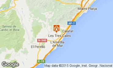 Mapa La Ametlla de Mar Vivenda 59886