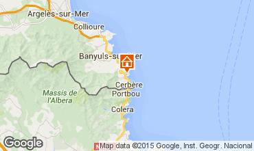 Mapa Banyuls-sur-Mer Apartamentos 71534