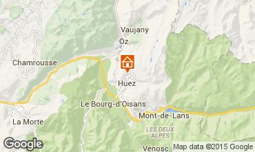 Mapa Alpe d'Huez Apartamentos 92