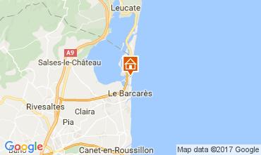 Mapa Le Barcares Apartamentos 95538