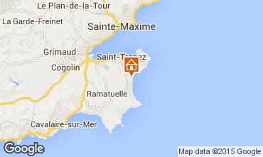 Mapa Saint Tropez Mobil Home 97399