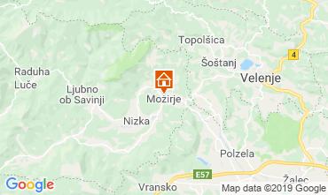Mapa  Alojamento insólito/Moradia atípica  117036
