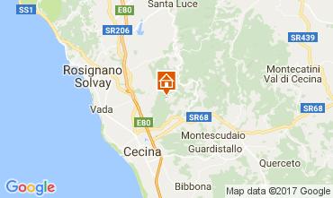 Mapa Cecina Casa de turismo rural/Casa de campo 110576