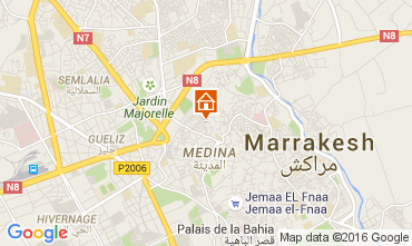 Mapa Marraqueche Casa 32686