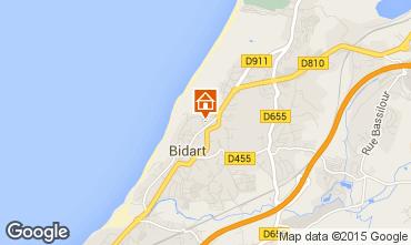 Mapa Bidart Apartamentos 78216