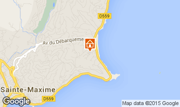 Mapa Sainte Maxime Vivenda 8541