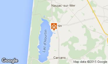 Mapa Hourtin Casa 85789