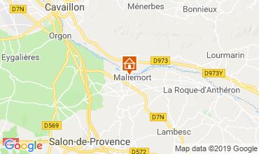 Mapa Aix en Provence Casa 91300