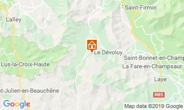 Mapa Superdévoluy- La Joue du Loup Apartamentos 112558