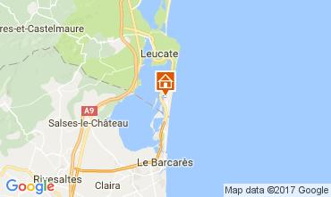 Mapa Port Leucate Est�dio 6310