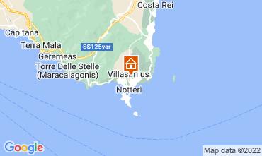 Mapa Villasimius Apartamentos 61164