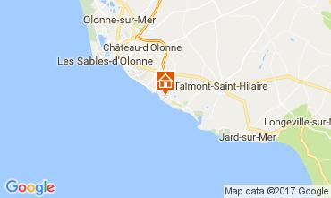 Mapa Les  Sables d'Olonne Casa 110651