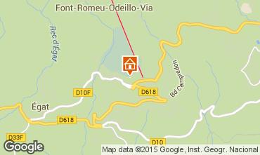 Mapa Font Romeu Apartamentos 4136