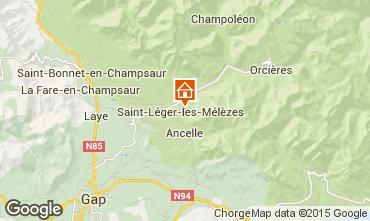 Mapa Saint L�ger les M�l�zes Apartamentos 102084
