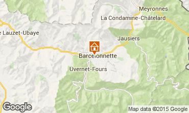 Mapa Barcelonnette Chal� 68406