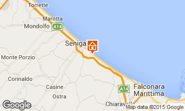 Mapa Senigallia Apartamentos 63340