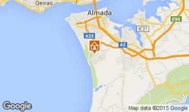 Mapa Costa de Caparica Vivenda 82012