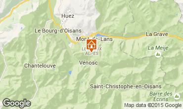 Mapa Les 2 Alpes Apartamentos 49459