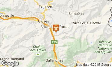 Mapa Les Carroz d'Araches Chalé 90862