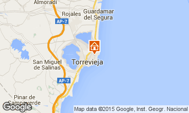 Mapa Torrevieja Bungalow 45669