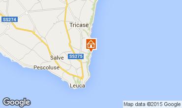 Mapa Santa Maria di Leuca Apartamentos 51532