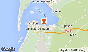 Mapa Arcachon Mobil Home 76641