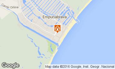 Mapa Empuriabrava Apartamentos 77084