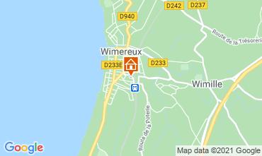 Mapa Wimereux Casa de turismo rural/Casa de campo 95721