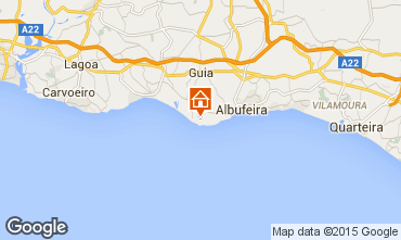 Mapa Albufeira Apartamentos 60943